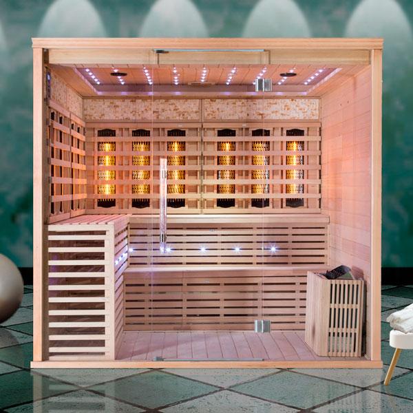 Kombinált szauna Luxury Monte Carlo_kövek